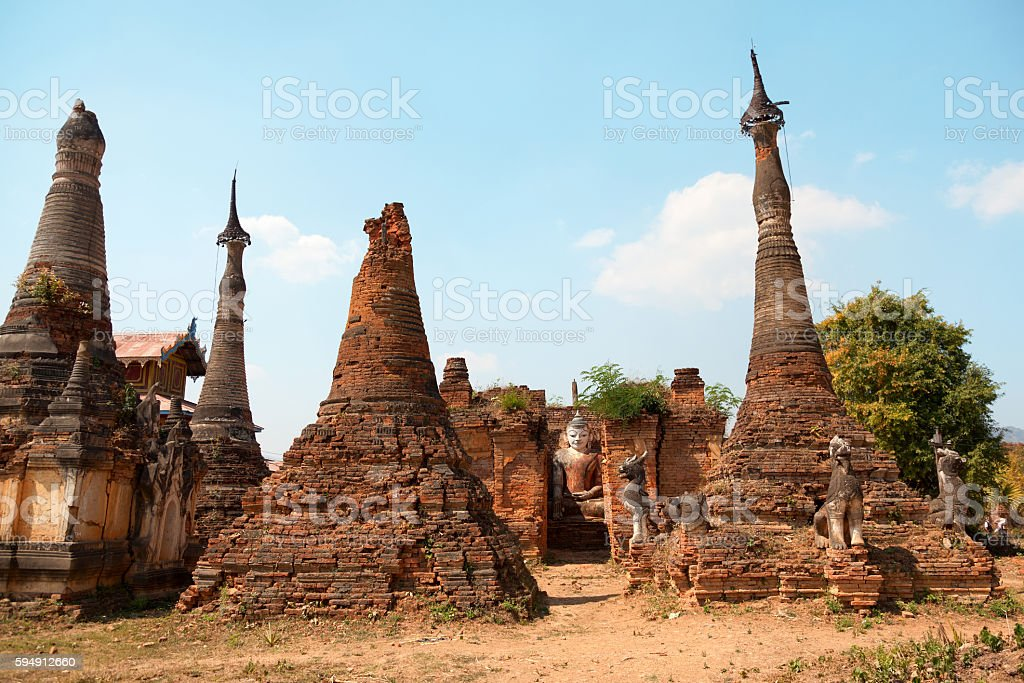 Sagar, Lake Inle, Myanmar stock photo