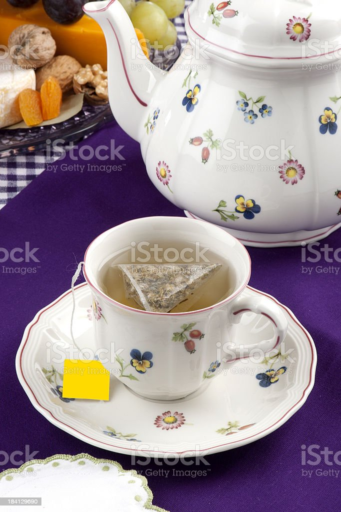 Sage/Green Tea royalty-free stock photo