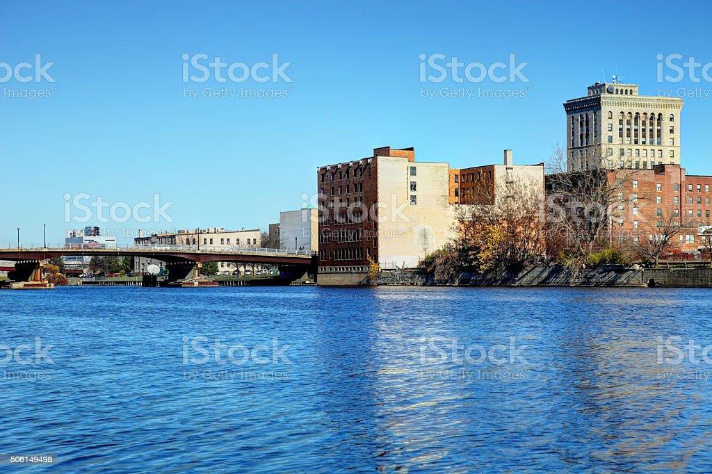 Saginaw, Michigan stock photo