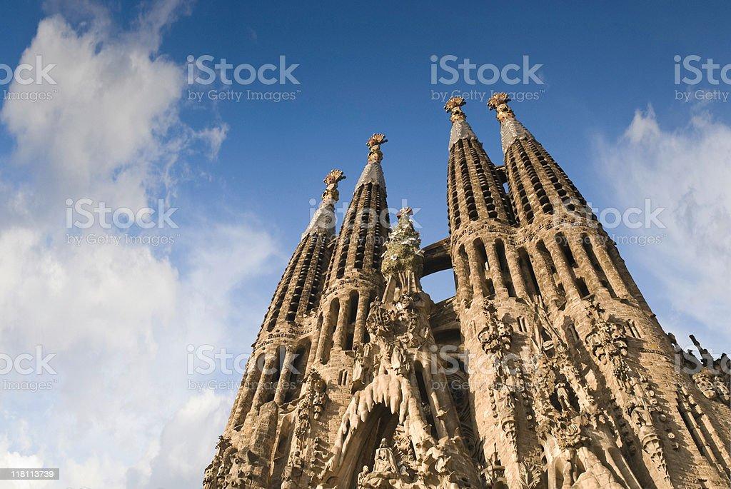 Sagrada Familia, Barcelona stock photo