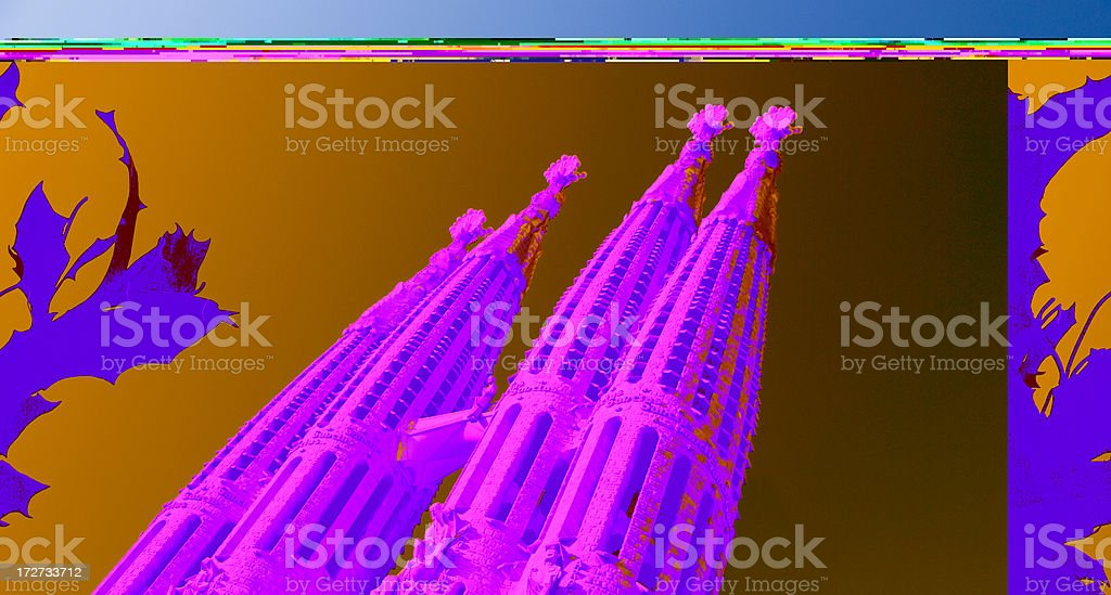 Sagrada Familia Barcelona royalty-free stock photo