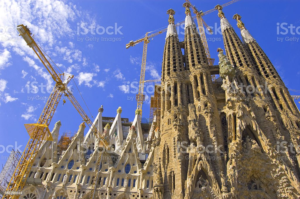 Sagrada Familia, Barcelona royalty-free stock photo