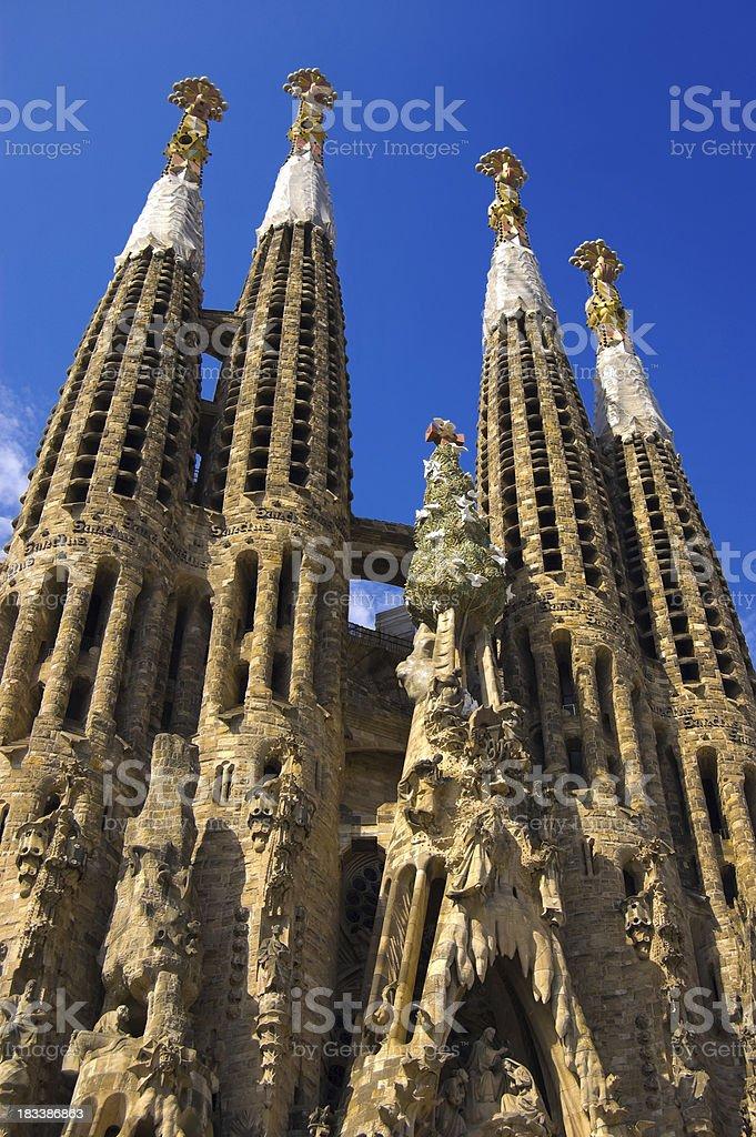 'Sagrada Familia, Barcelona' stock photo