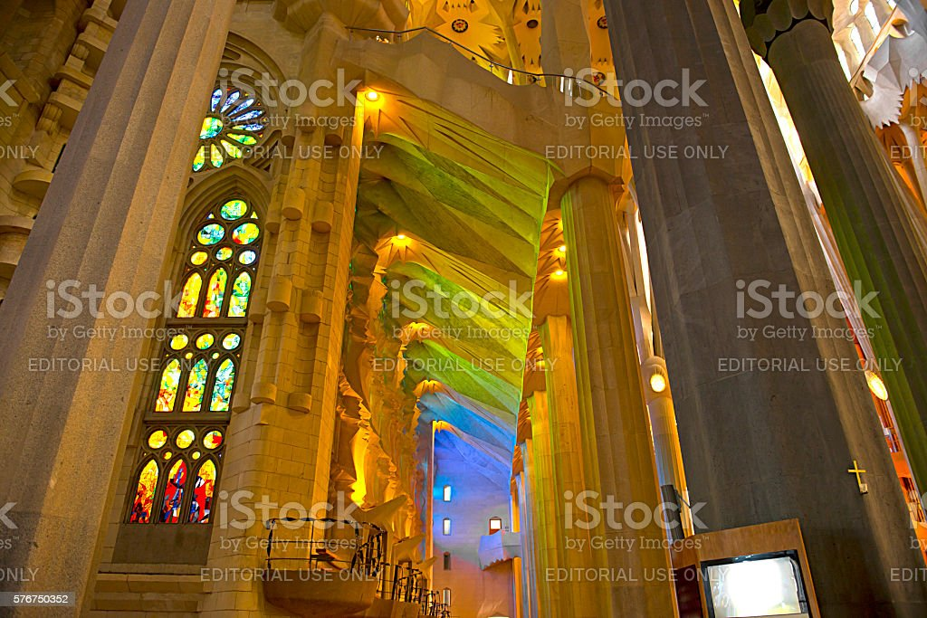Sagrada Familia - Barcelona Spain stock photo