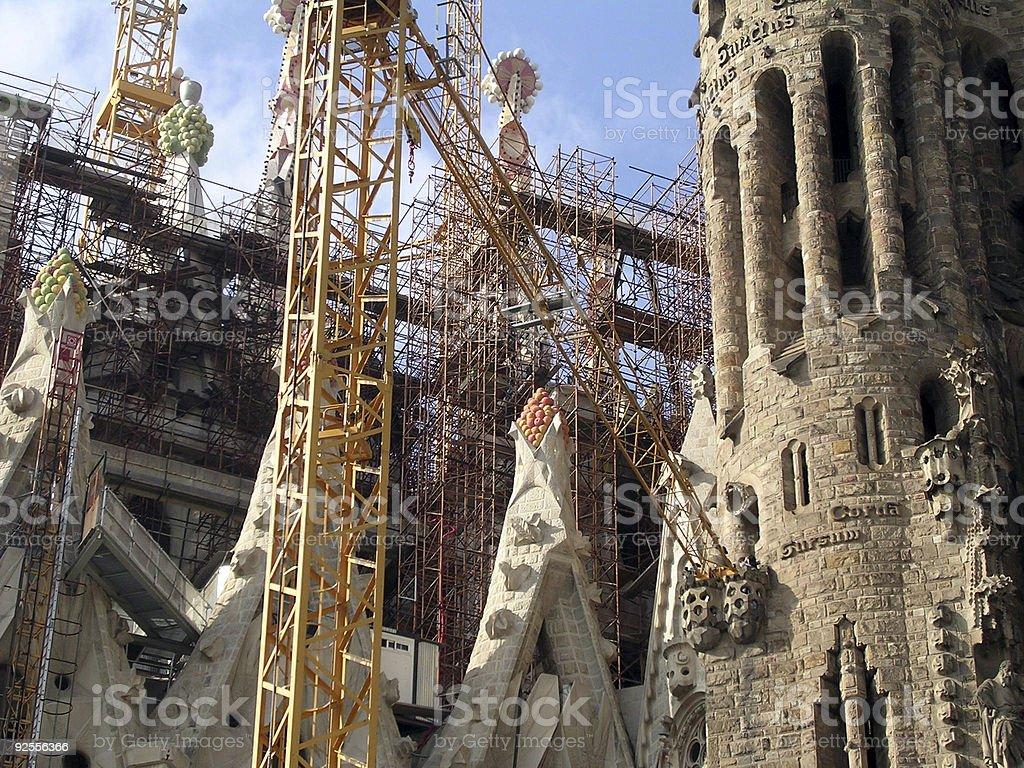 Sagrada Familia Church royalty-free stock photo