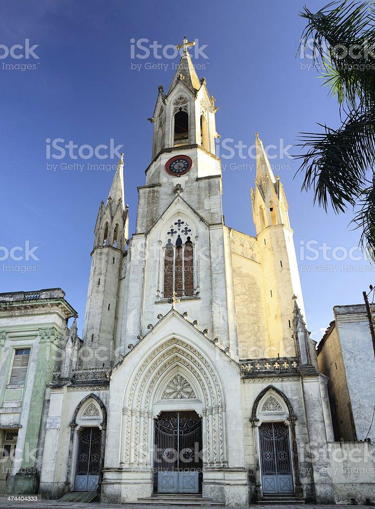 Sagrado Corazon de Jesus, Camaguey, Cuba stock photo