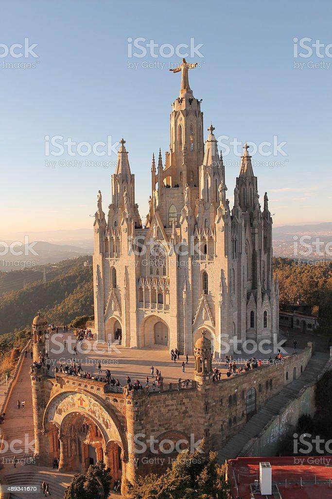 Sagrat Cor in Barcelona stock photo