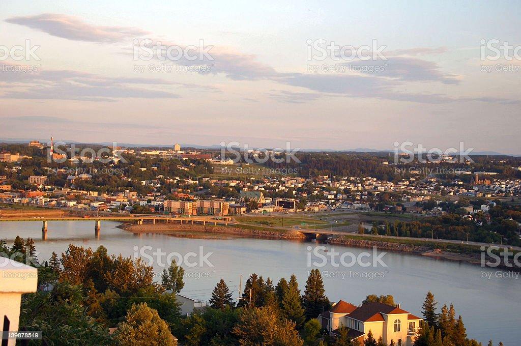 Saguenay stock photo