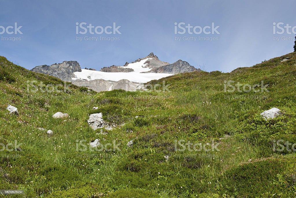 Sahale Mountain royalty-free stock photo