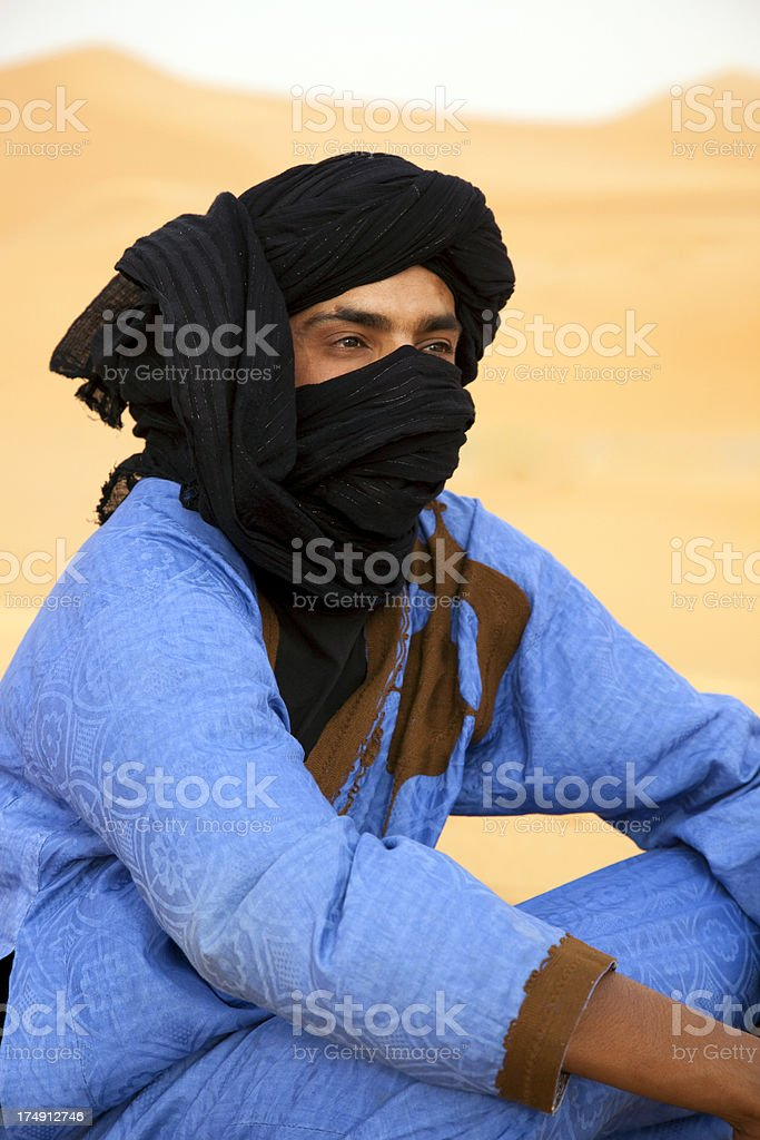 Sahara Desert, Morocco royalty-free stock photo
