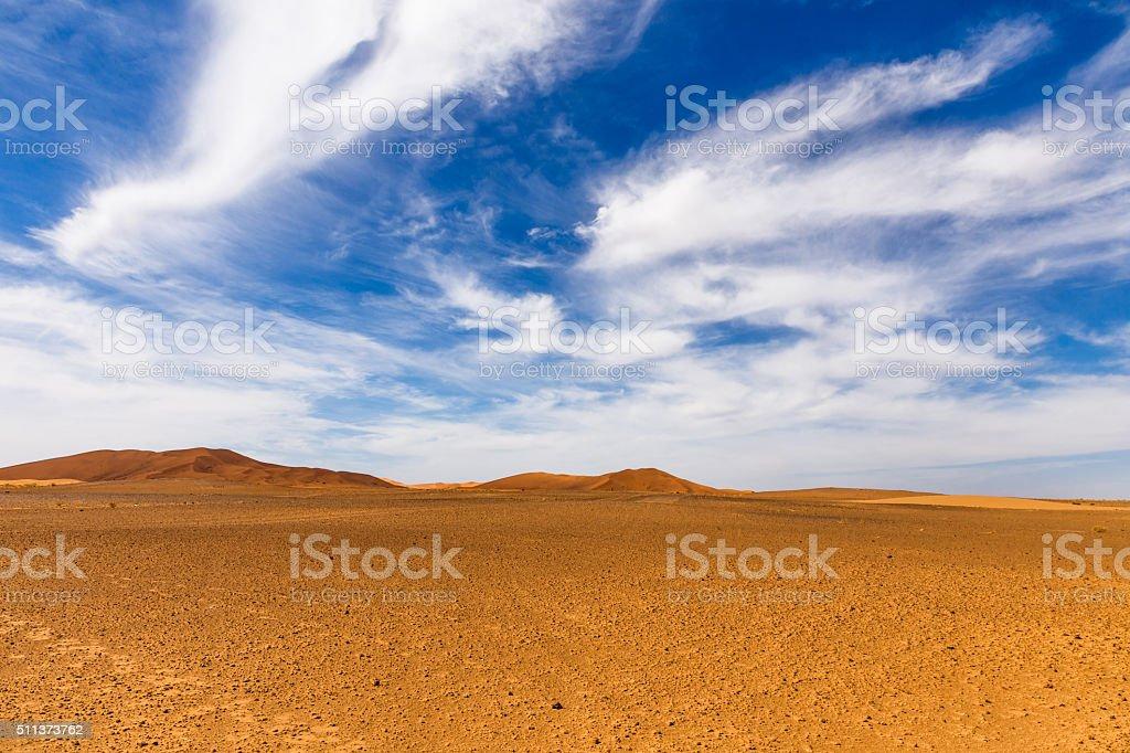 Sahara desert Morocco stock photo