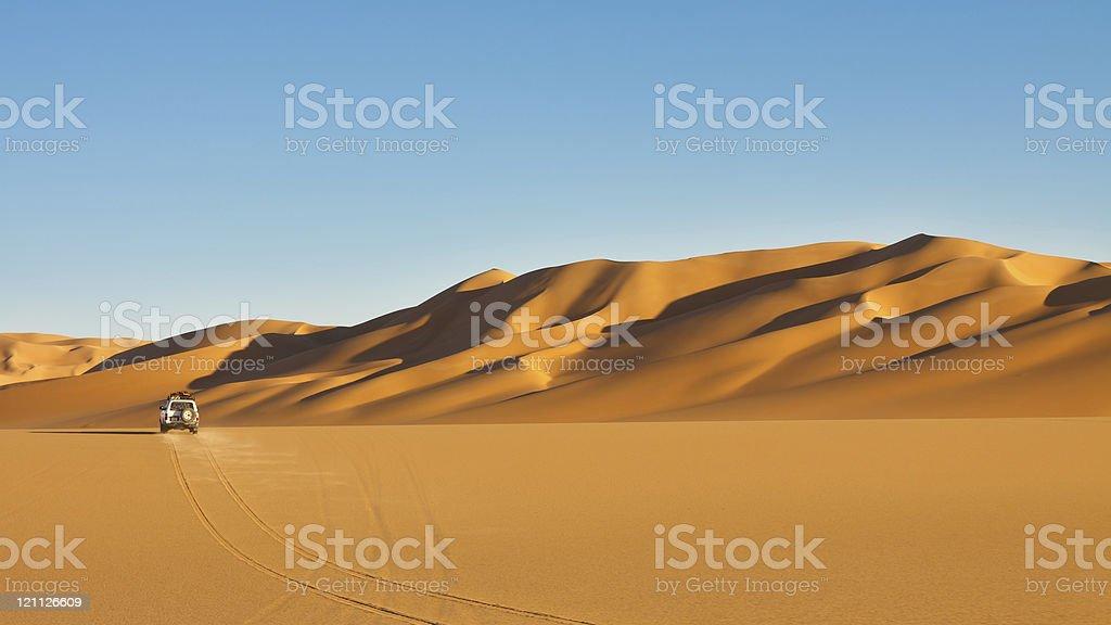 Sahara Desert Safari Adventure royalty-free stock photo