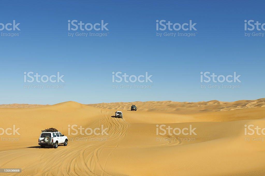 Sahara Desert Safari stock photo