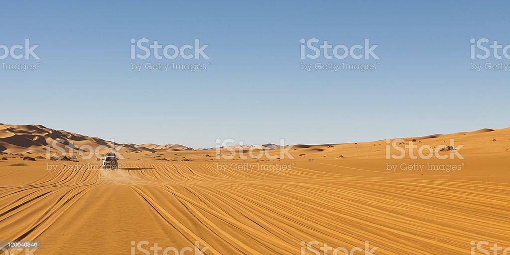 Sahara Desert Safari royalty-free stock photo