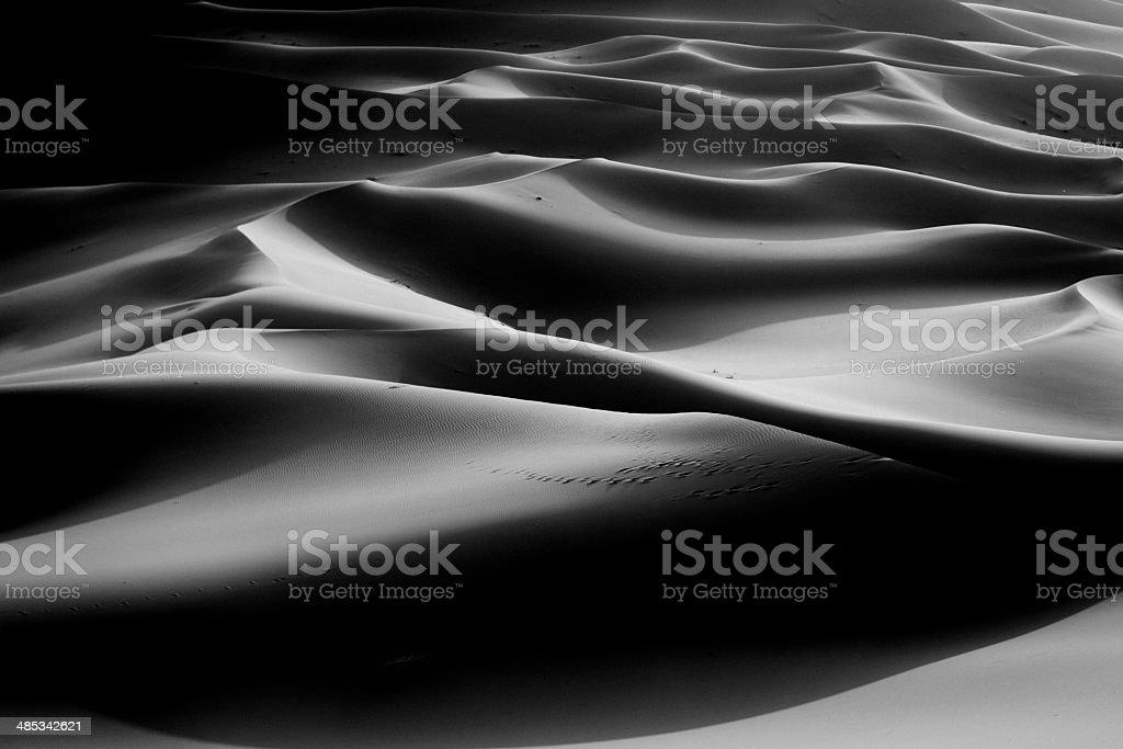 sahara sand desert royalty-free stock photo
