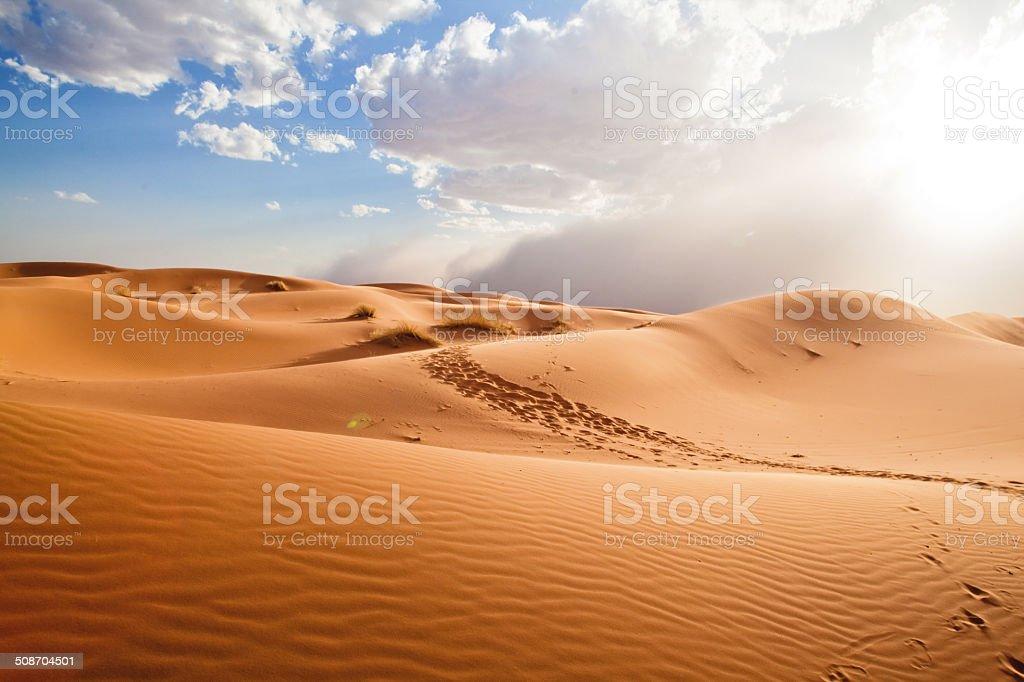 Sahara Sandstorm royalty-free stock photo