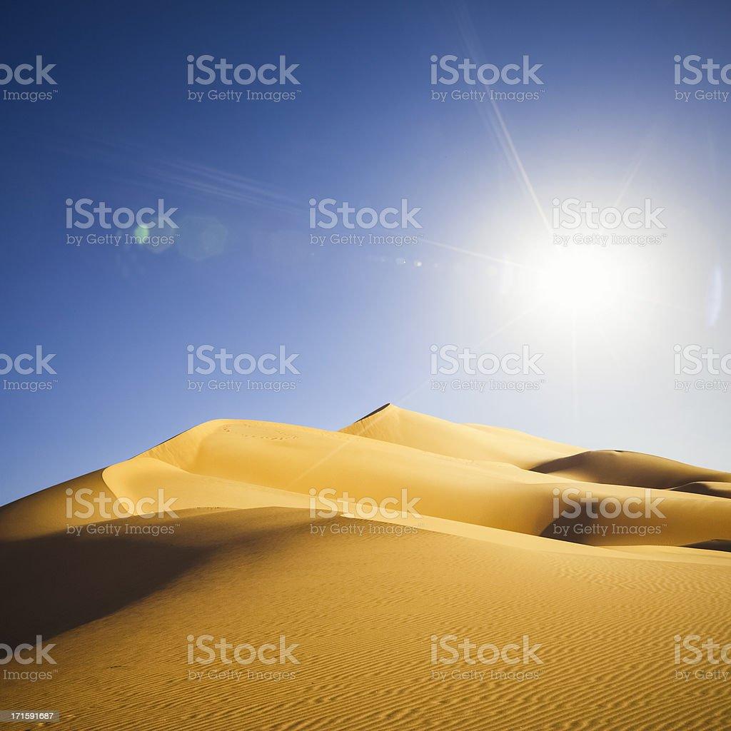 Sahara Sun royalty-free stock photo