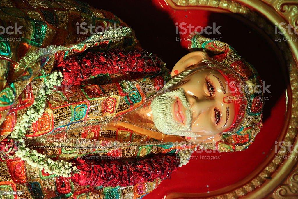 Sai Baba stock photo