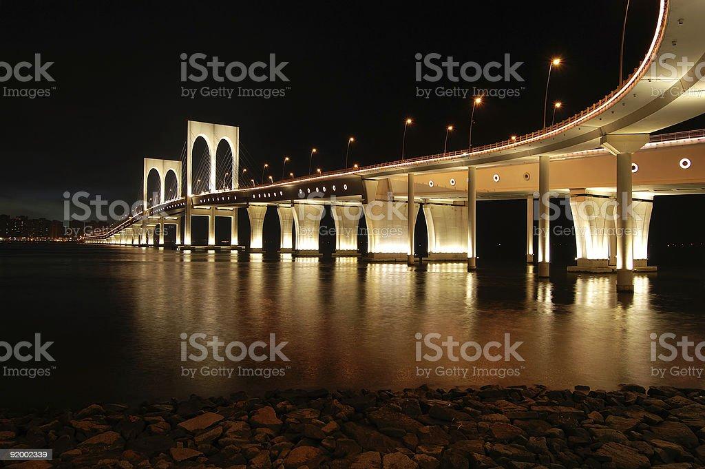 Sai Van bridge, Macau royalty-free stock photo