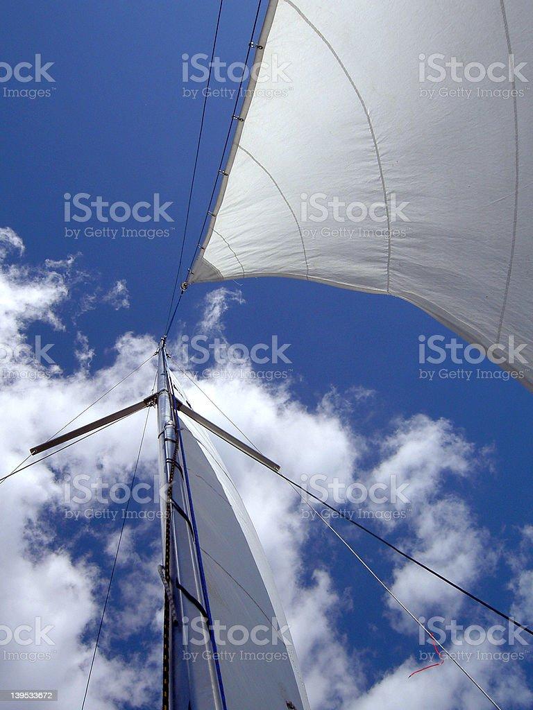 Sail 01 royalty-free stock photo