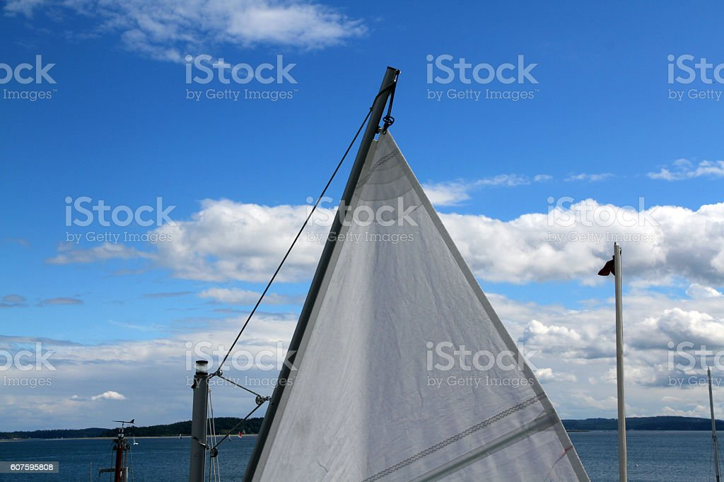 Sail and Shore stock photo