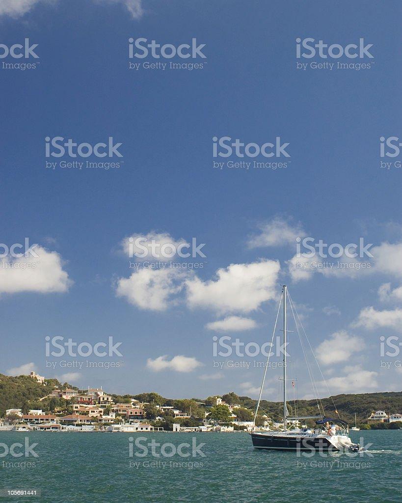 Sail away royalty-free stock photo