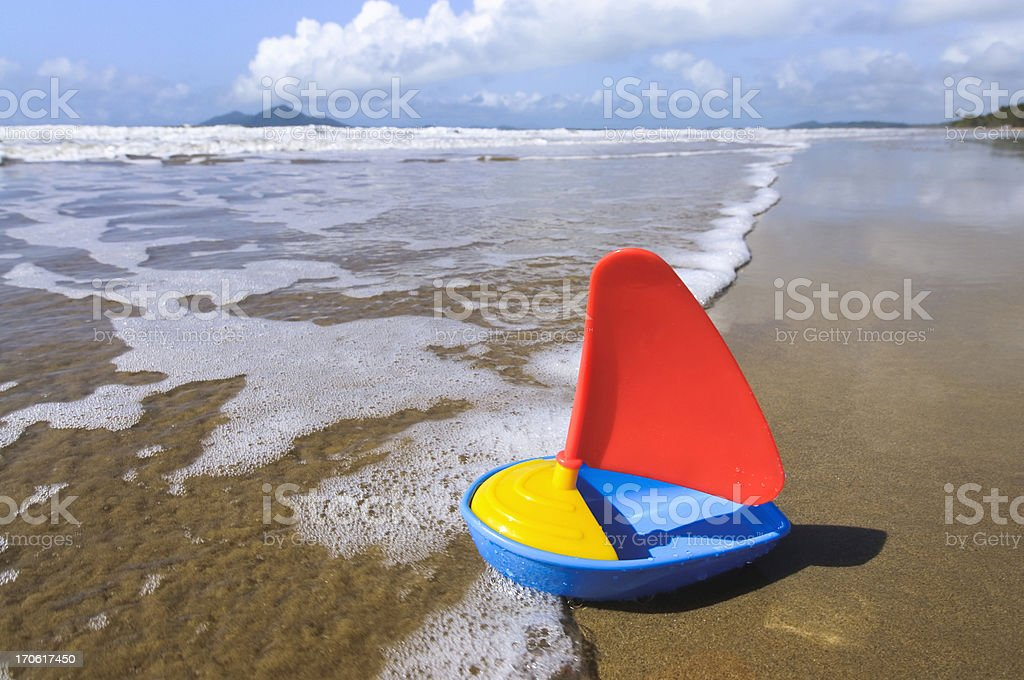 Sail Away stock photo