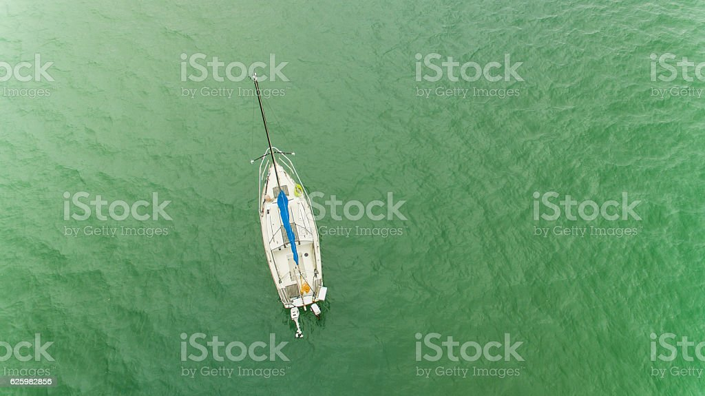 Sail Boat. stock photo