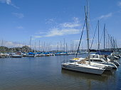 Sail Boats at Atlantic Ocean - Brazil