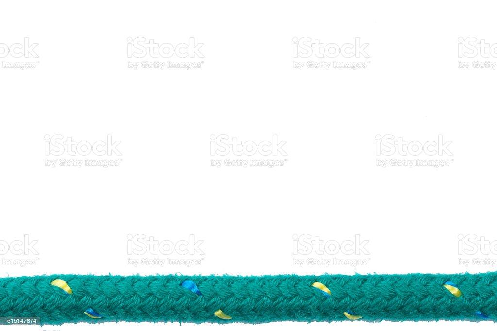 Sail cord stock photo