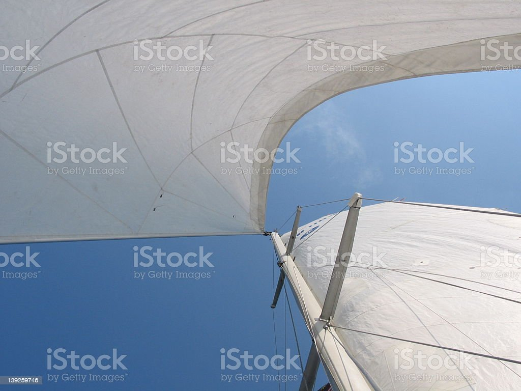 sail formation stock photo