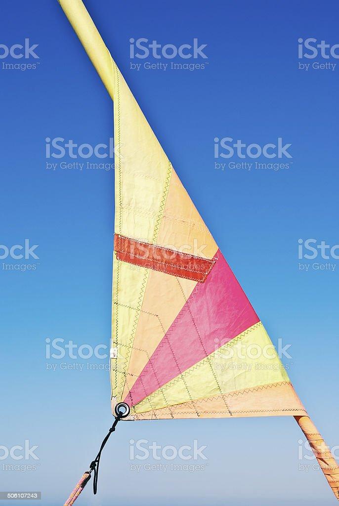 Sail stock photo