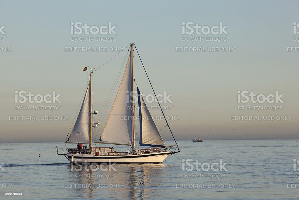 Sail ship royalty-free stock photo