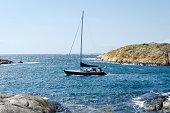 sailboat at the westcoast