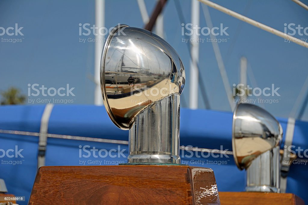 Sailboat dorades stock photo