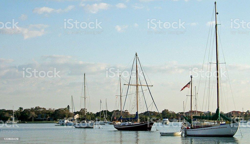 Sailboat Dream stock photo