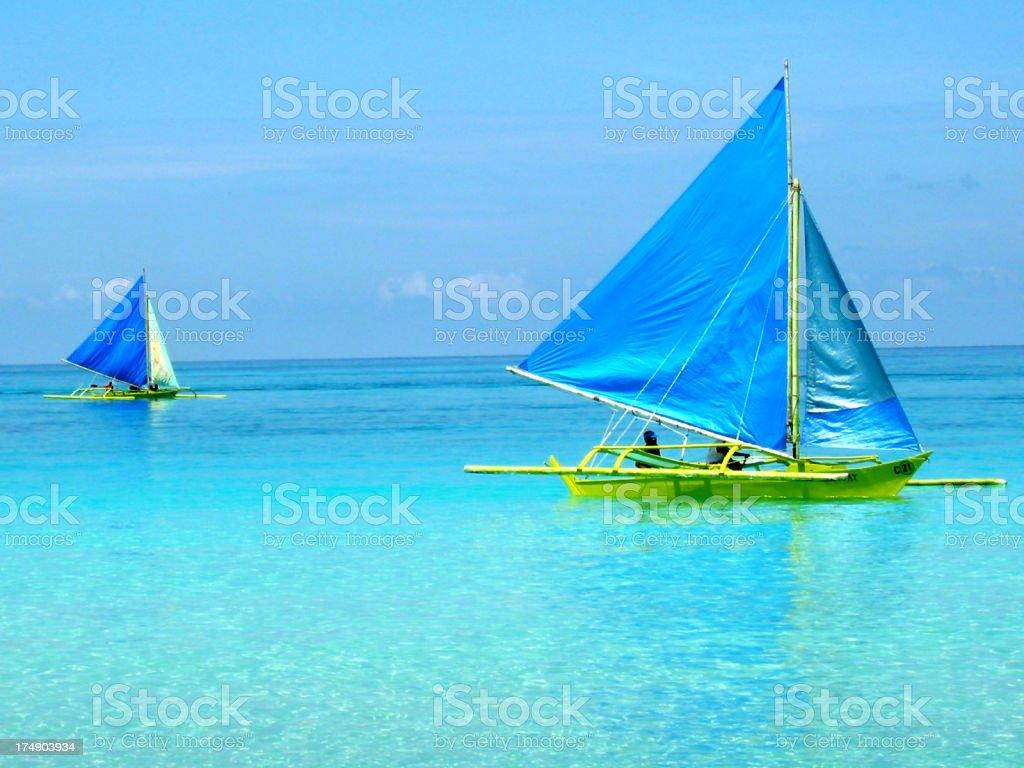 Segelschiff Lizenzfreies stock-foto