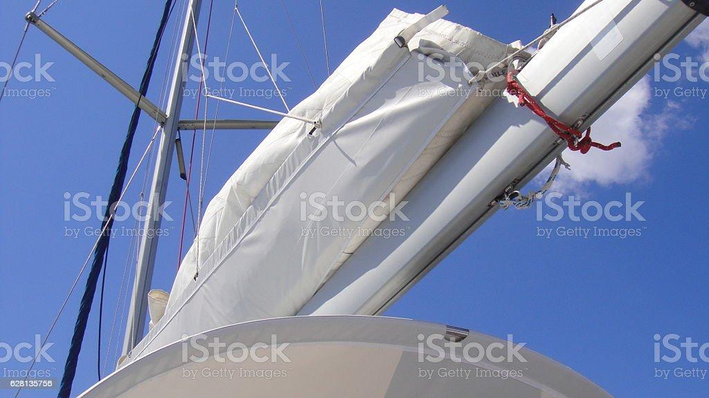sailboat, sea, sail, outdoor, nautical, ocean, sport stock photo