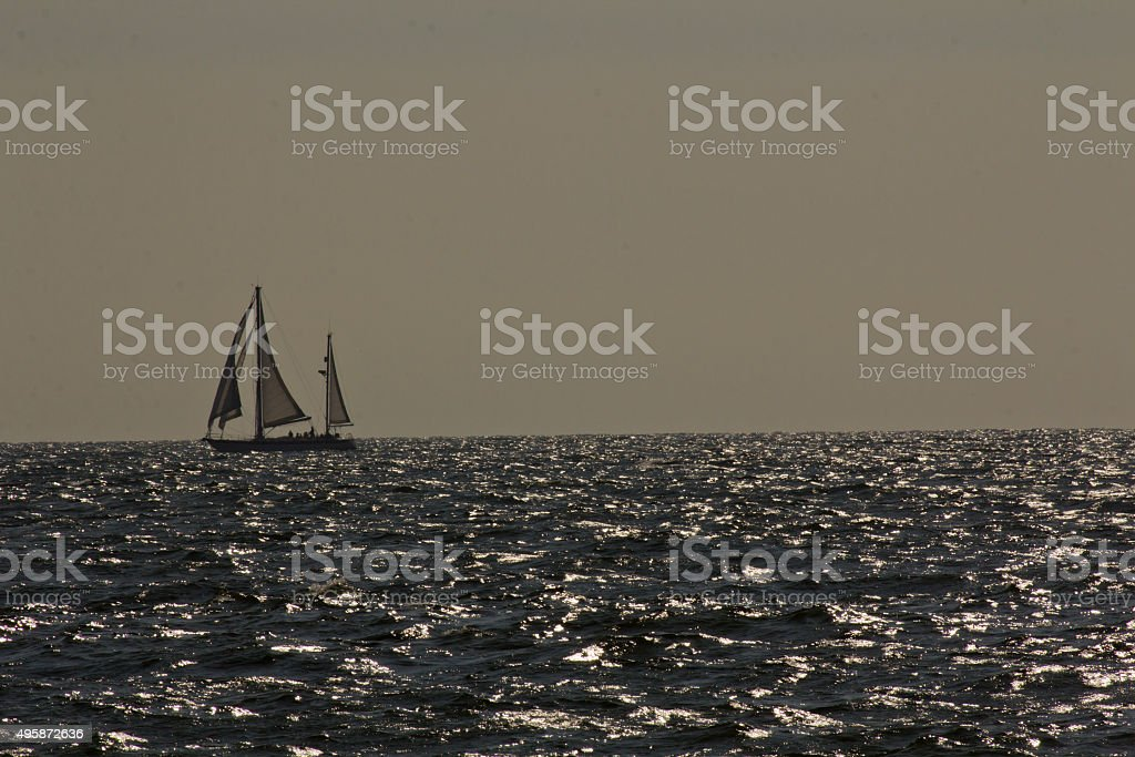 Sailboat Yacht stock photo