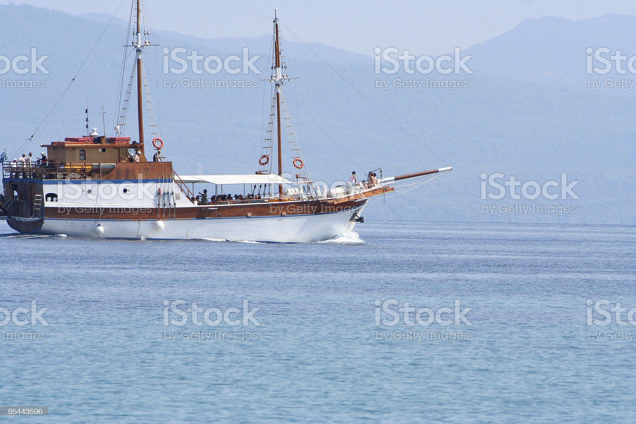 Sailer royalty-free stock photo