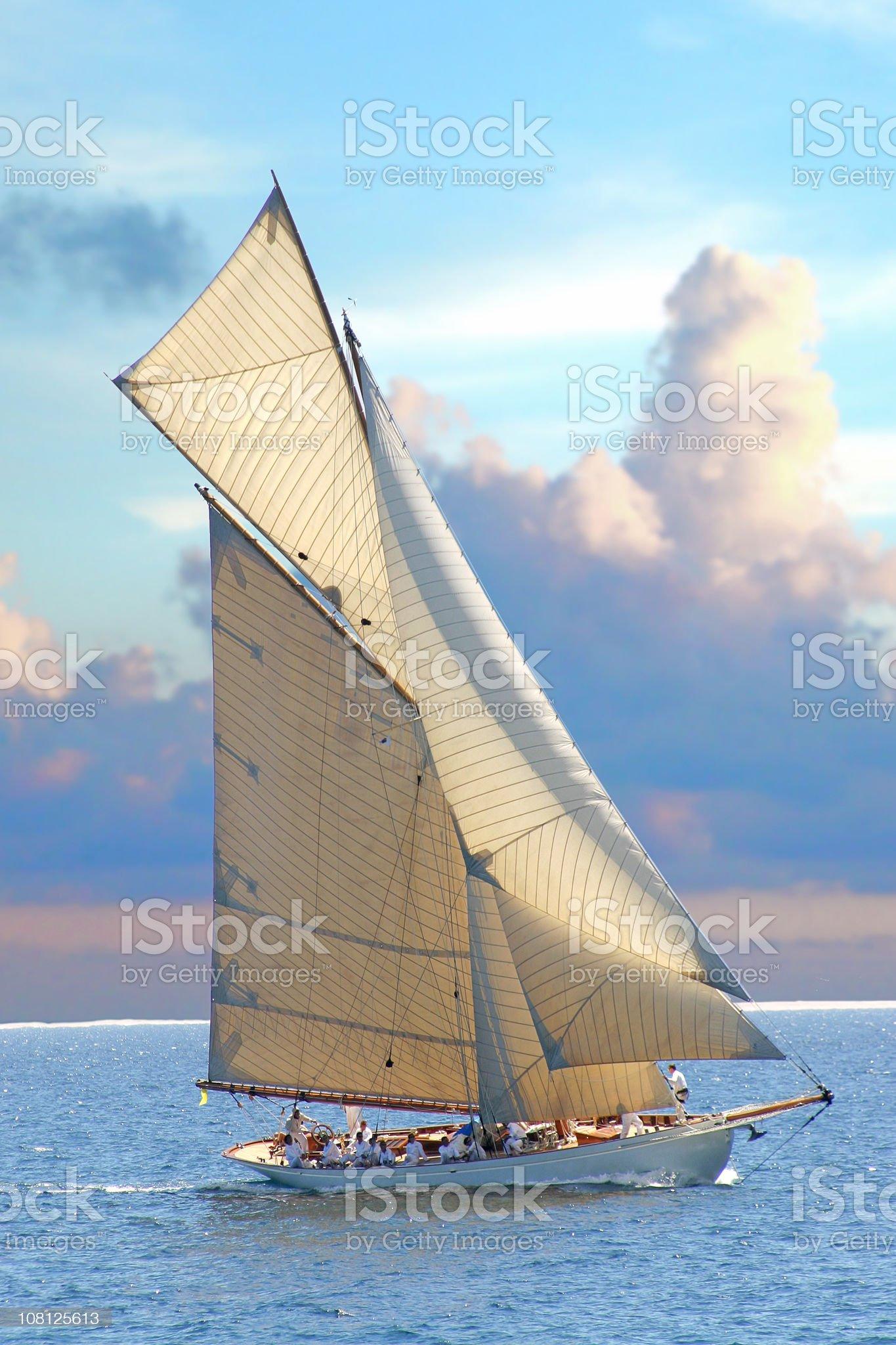 sailing 1 royalty-free stock photo