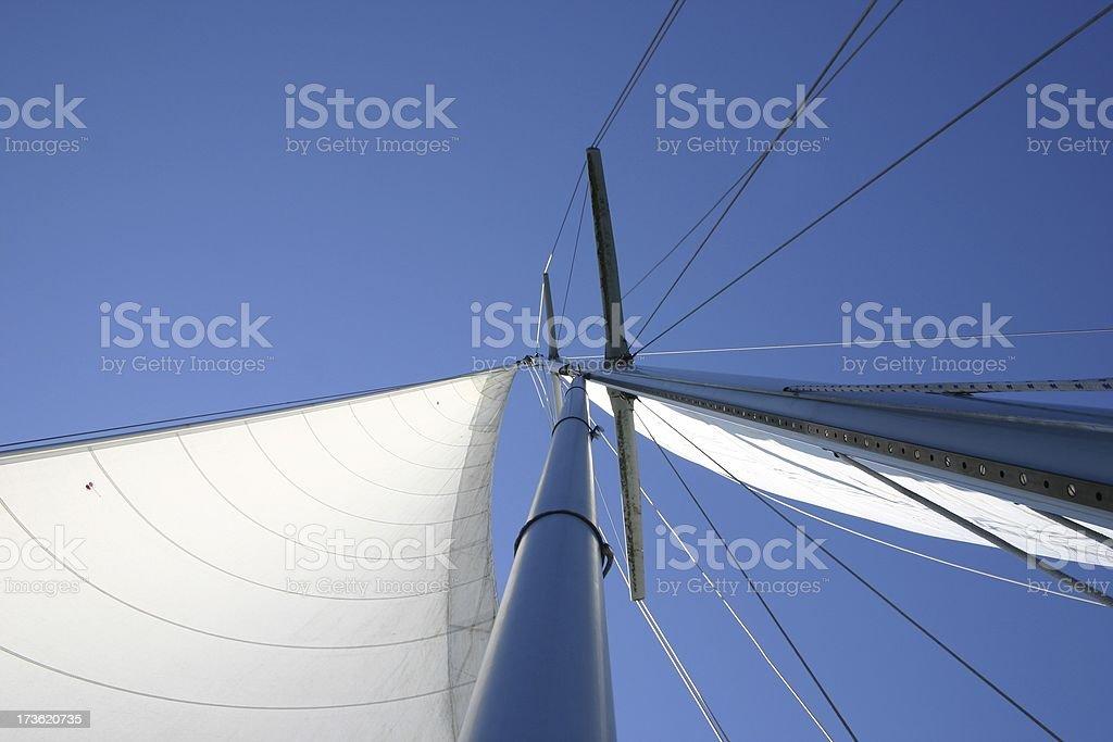 Sailing 101 stock photo