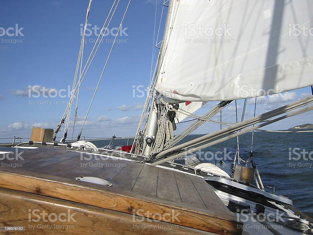 Sailing 3 royalty-free stock photo