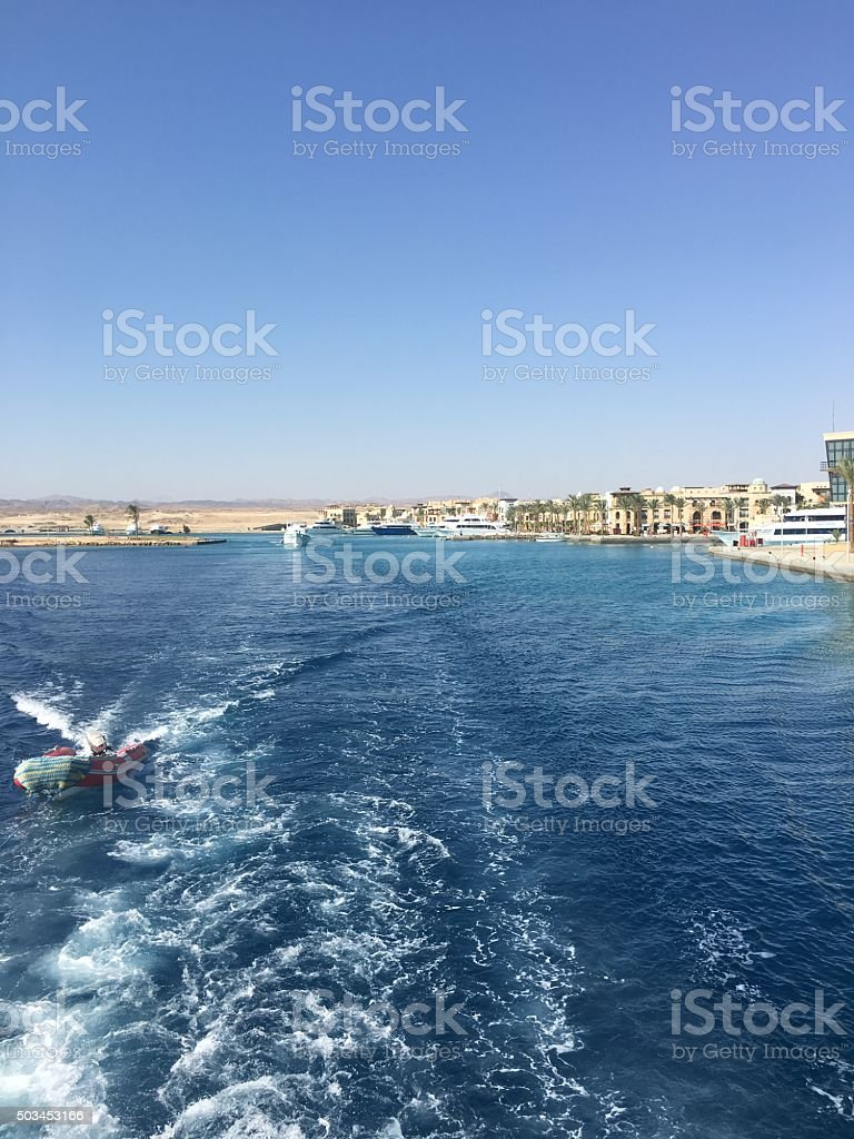 Sailing away; island life royalty-free stock photo