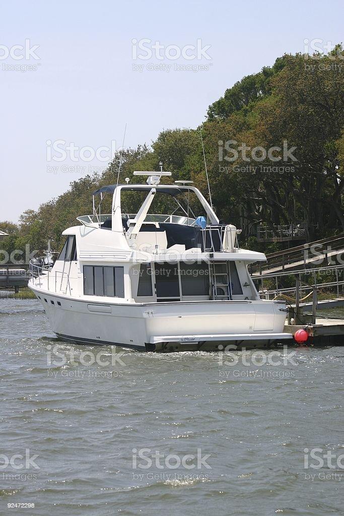 Sailing boat royalty-free stock photo
