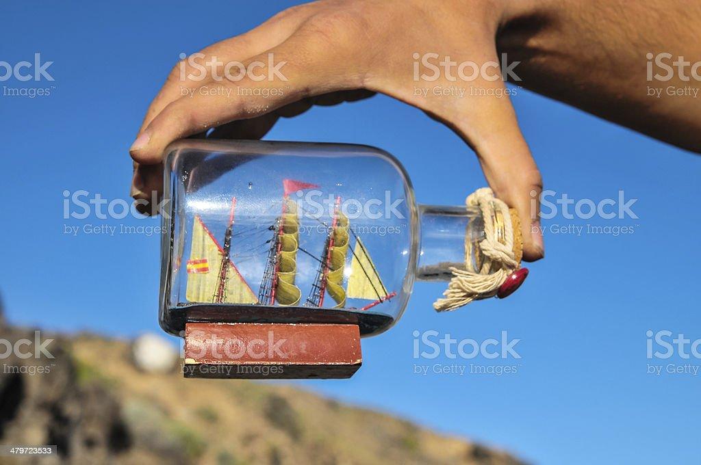 Sailing Boat Vintage Vessel stock photo