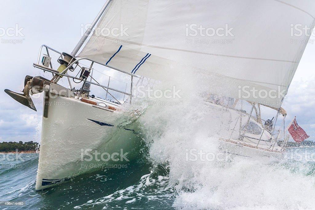Sailing Boat Yacht stock photo