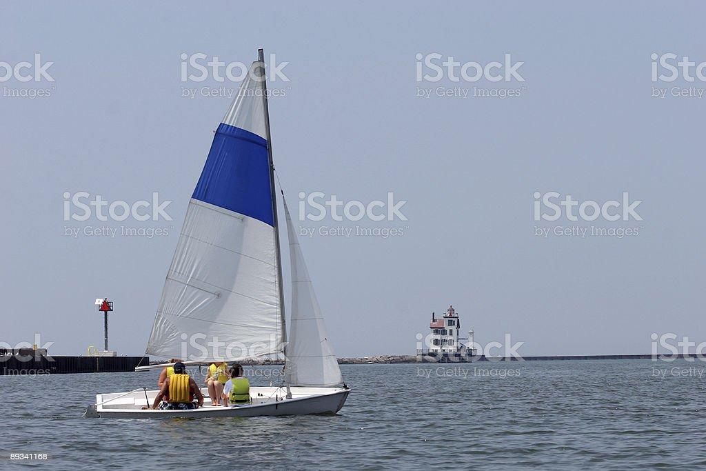 Sailing Class stock photo