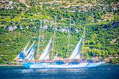 Sailing Croatia Europe summertime.