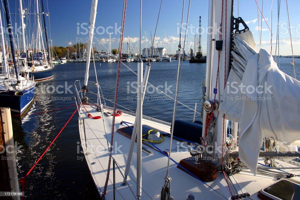 Sailing Day royalty-free stock photo
